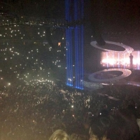 View from Phones4U Arena (Manchester) Block 114 Row U