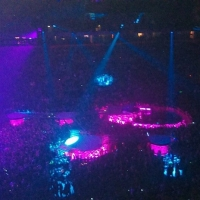 View from Phones4U Arena (Manchester) Block 202 Row H Seat 13