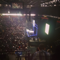 View from Phones4U Arena (Manchester) Block 209 Row J