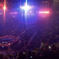 View from Phones4U Arena (Manchester) Block 210 Row K Seat 20