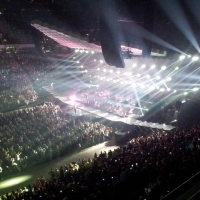 View from Phones4U Arena (Manchester) Block 214 Row B Seat 6