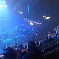 View from Phones4U Arena (Manchester) Block 214 Row L Seat 1