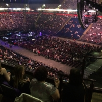 View from Phones4U Arena (Manchester) Block 216 Row D Seat 19