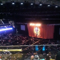 View from SSE Hydro (Glasgow) Block 332 Row Y Seat 267