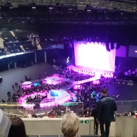 View from SSE Hydro (Glasgow) Block 332 Row DD Seat 174
