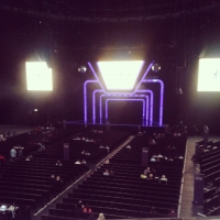 View from SSE Hydro (Glasgow) Block K Row A Seat 177