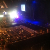 View from SSE Arena (Wembley) Block N5 Row N Seat 58