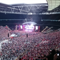View from Wembley Stadium Block 508 Row 17 Seat 128